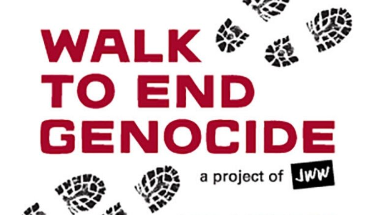 Walk to end Genocide 1