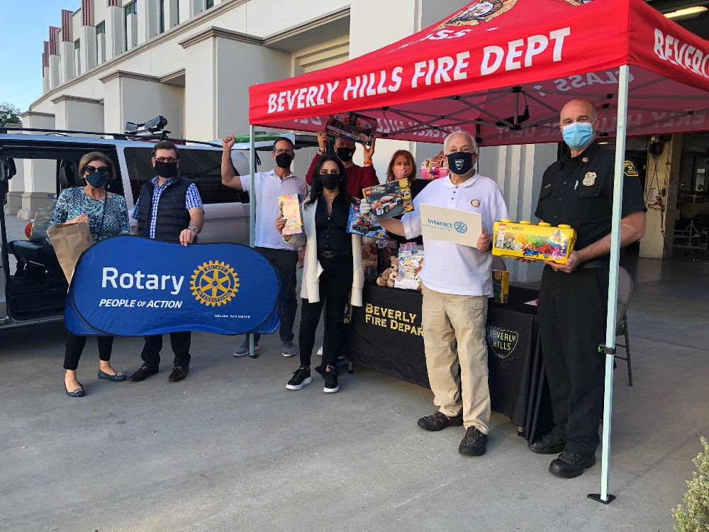 Beverly Hills Toy Drive 9