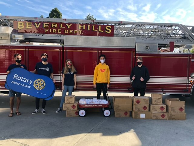 New Year 2021 - BHPD & BHFD Donation