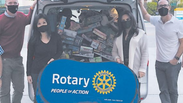 Rotary Club of BH Gives to Those in Need