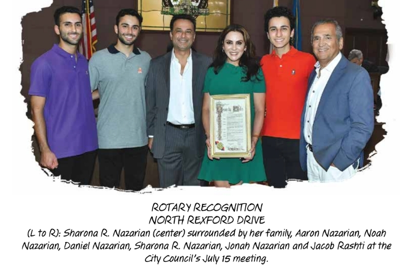 Rotary Recognition Rexford Drive